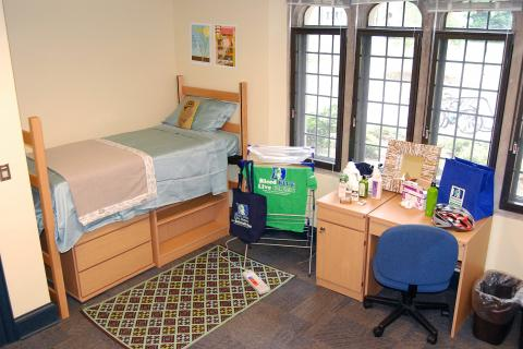 green dorm room certification
