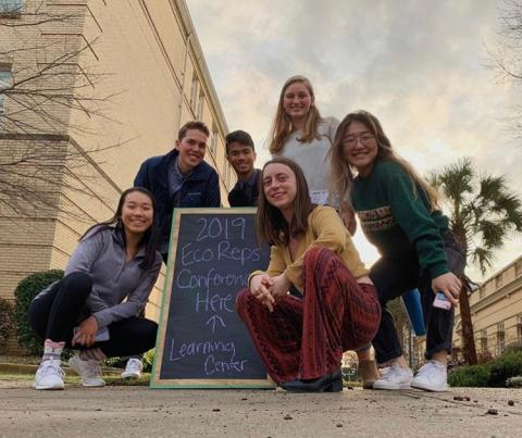 Green Devils attend the Southeastern Ecoreps Conference