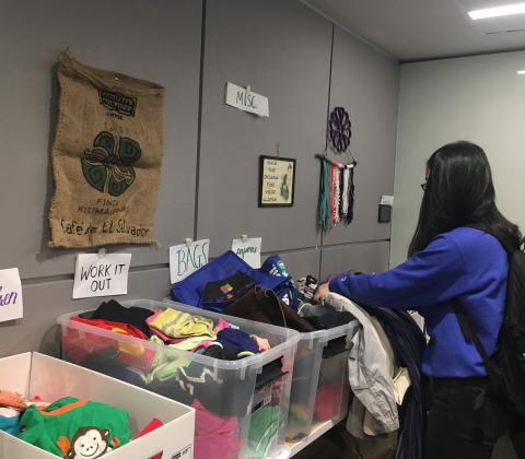 Green Devils collected donations from staff and students to create a culture of reuse on campus